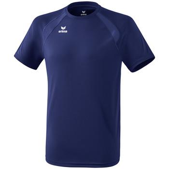 Oblečenie Deti Tričká s krátkym rukávom Erima T-shirt enfant  Performance bleu