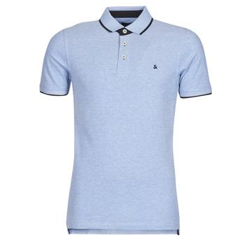 Oblečenie Muži Polokošele s krátkym rukávom Jack & Jones JJEPAULOS Modrá