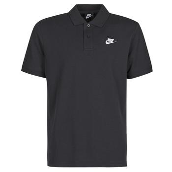 Oblečenie Muži Polokošele s krátkym rukávom Nike M NSW CE POLO MATCHUP PQ Čierna / Biela