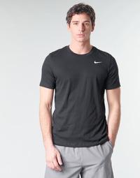 Oblečenie Muži Tričká s krátkym rukávom Nike M NK DRY TEE DFC CREW SOLID Čierna / Biela