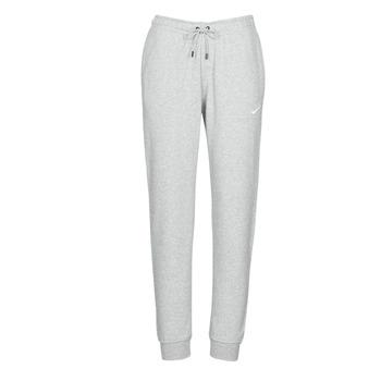 Oblečenie Ženy Tepláky a vrchné oblečenie Nike W NSW ESSNTL PANT REG FLC Šedá / Biela
