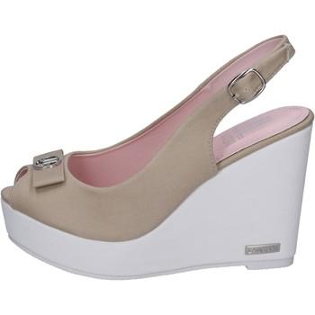 Topánky Ženy Sandále Lancetti sandali tela Beige