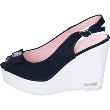 Topánky Ženy Sandále Lancetti sandali tela Blu