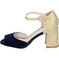 Topánky Ženy Sandále Olga Rubini BP571 Modrá