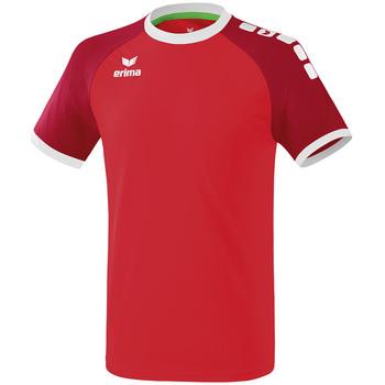 Oblečenie Muži Tričká s krátkym rukávom Erima Maillot  Zenari 3.0 rouge/blanc