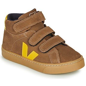 Topánky Deti Členkové tenisky Veja SMALL-ESPLAR-MID Hnedá / Žltá