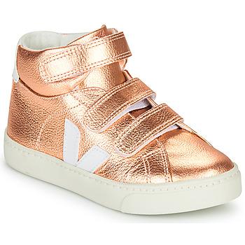 Topánky Dievčatá Členkové tenisky Veja SMALL-ESPLAR-MID Ružová
