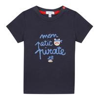 Oblečenie Chlapci Tričká s krátkym rukávom Absorba NADINE Námornícka modrá