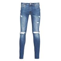 Oblečenie Muži Džínsy Slim Jack & Jones JJITOM Modrá / Medium