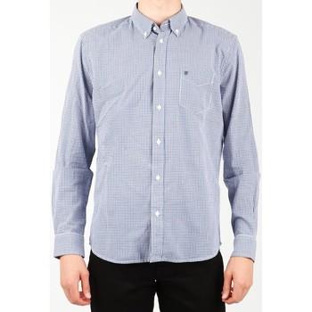 Oblečenie Muži Košele s dlhým rukávom Wrangler 1 PKT Shirt W5929M8DF blue, white