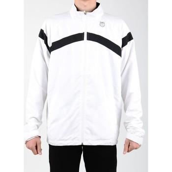 Oblečenie Muži Vrchné bundy K-Swiss Accomplish WVN JCKT 100627-102 white, black