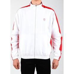 Oblečenie Muži Vrchné bundy K-Swiss Accomplish Jacket 100250-119 white, red