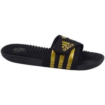 Topánky Muži športové šľapky adidas Originals Adissage Čierna,Zlatá