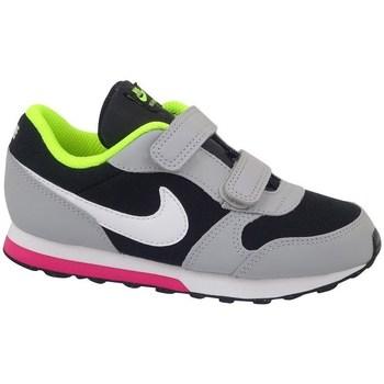Topánky Deti Bežecká a trailová obuv Nike MD Runner 2 TD Pastelová zelená,Čierna,Sivá