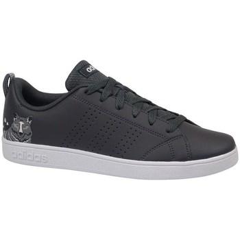 Topánky Deti Nízke tenisky adidas Originals VS Advantage CL K Biela,Čierna