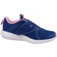 Topánky Dievčatá Bežecká a trailová obuv adidas Originals Fortarun X CF K Žltá,Tmavomodrá