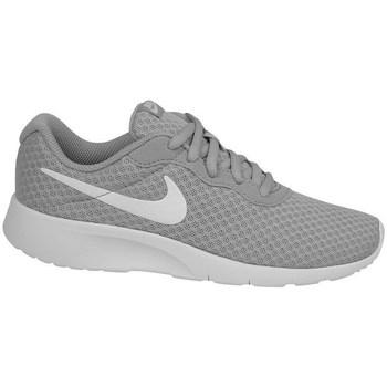 Topánky Deti Nízke tenisky Nike Tanjun PS Biela,Sivá