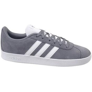 Topánky Deti Nízke tenisky adidas Originals VL Court 20 K Sivá