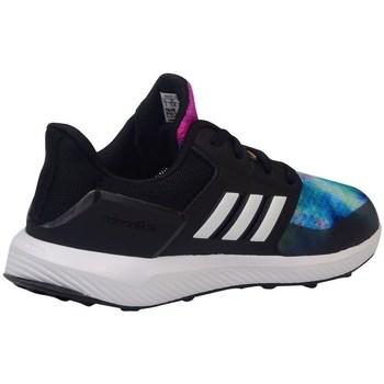 Topánky Deti Bežecká a trailová obuv adidas Originals Rapidarun X K Čierna