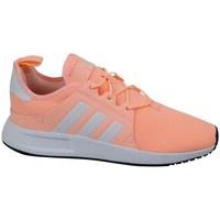Topánky Dievčatá Nízke tenisky adidas Originals X Plr C Sivá,Oranžová