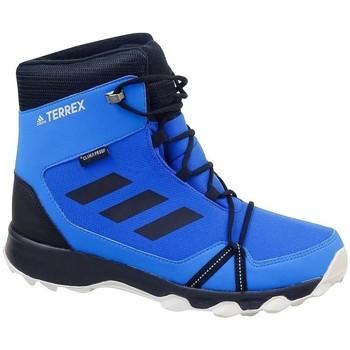 Topánky Chlapci Snehule  adidas Originals Terrex Snow CP CW K Čierna,Modrá