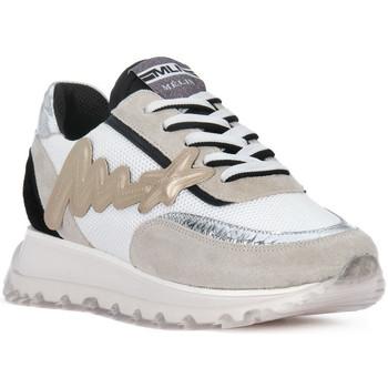 Topánky Muži Nízke tenisky At Go GO MOON ARGENTO 560 Grigio