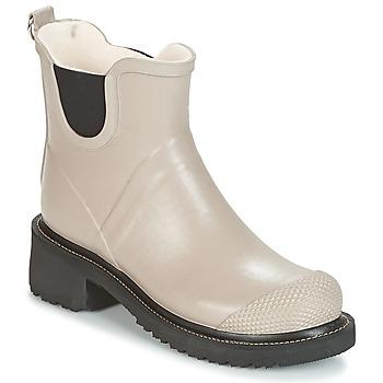 Topánky Ženy Čižmy do dažďa Ilse Jacobsen RUB47 Okrová-svetlá hnedá