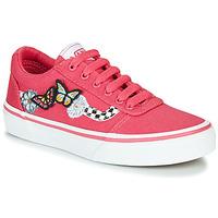 Topánky Dievčatá Nízke tenisky Vans WARD Ružová