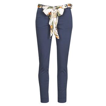 Oblečenie Ženy Nohavice päťvreckové Betty London MIRABINE Námornícka modrá