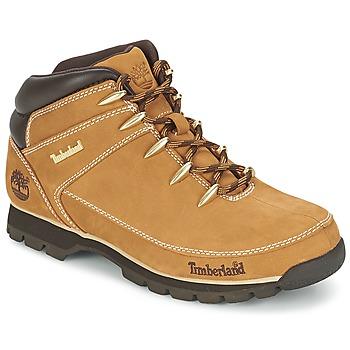 Topánky Muži Polokozačky Timberland EURO SPRINT HIKER Béžová