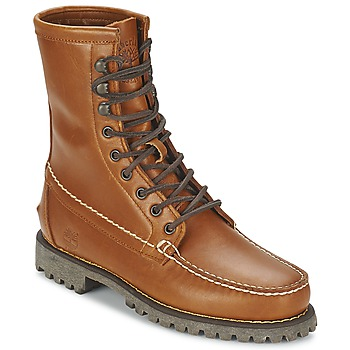 Topánky Muži Polokozačky Timberland AUTHENTICS 8 IN RUGGED HANDSEWN Earth / Cooked