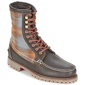 Topánky Muži Polokozačky Timberland AUTHENTICS 8 IN RUGGED HANDSEWN F/L BOOT Hnedá / Felt
