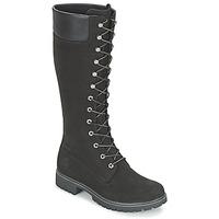 Topánky Ženy Čižmy do mesta Timberland WOMEN'S PREMIUM 14IN WP BOOT Čierna / Modrá