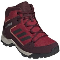 Topánky Deti Turistická obuv adidas Originals Hyperhiker K Bordó,Červená