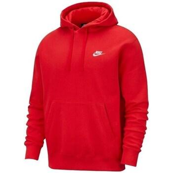 Oblečenie Muži Mikiny Nike M Nsw Club Hoodie PO BB Červená