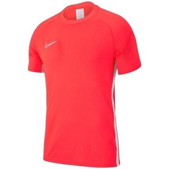 Oblečenie Chlapci Tričká s krátkym rukávom Nike JR Academy 19 Oranžová