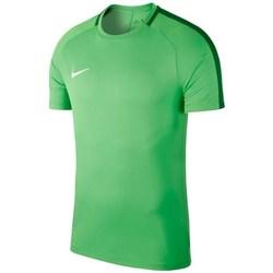 Oblečenie Muži Tričká s krátkym rukávom Nike Dry Academy 18 Zelená