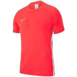 Oblečenie Muži Tričká s krátkym rukávom Nike Academy 19 Červená