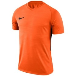 Oblečenie Muži Tričká s krátkym rukávom Nike Dry Tiempo Prem Jersey Oranžová
