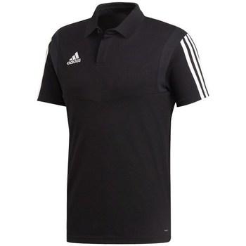Oblečenie Muži Polokošele s krátkym rukávom adidas Originals Tiro 19 Čierna