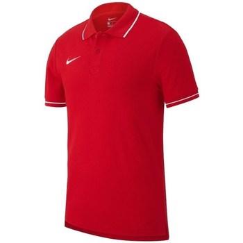 Oblečenie Muži Polokošele s krátkym rukávom Nike Team Club 19 Červená