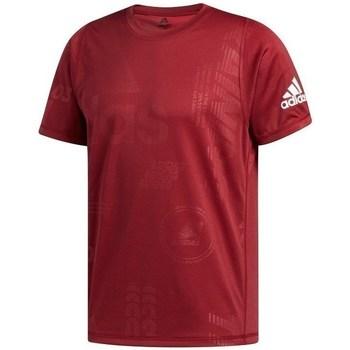 Oblečenie Muži Tričká s krátkym rukávom adidas Originals Freelift Daily Press Bordó