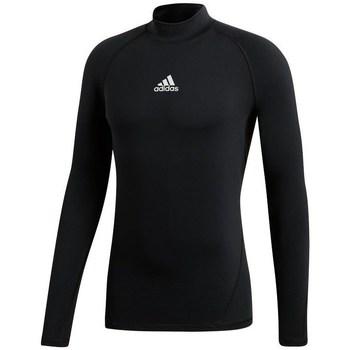 Oblečenie Ženy Tričká s dlhým rukávom adidas Originals Alphaskin Climawarm Golf Čierna