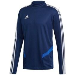 Oblečenie Muži Tričká s dlhým rukávom adidas Originals Tiro 19 Training Tmavomodrá
