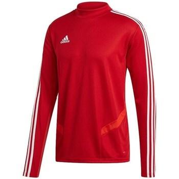 Oblečenie Muži Tričká s dlhým rukávom adidas Originals Tiro 19 Training Top Červená
