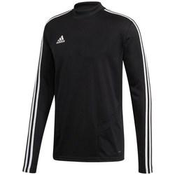 Oblečenie Muži Tričká s dlhým rukávom adidas Originals Tiro 19 Training Top Čierna
