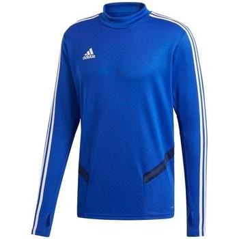 Oblečenie Muži Tričká s dlhým rukávom adidas Originals Tiro 19 Training Top Modrá