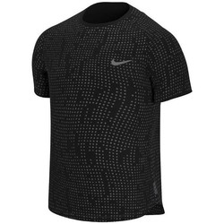 Oblečenie Muži Tričká s krátkym rukávom Nike Pro Breathe Čierna