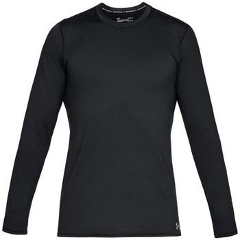 Oblečenie Muži Tričká s dlhým rukávom Under Armour Fitted CG Crew Čierna