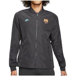 Oblečenie Muži Vrchné bundy Nike FC Barcelona Nsw Grafit
